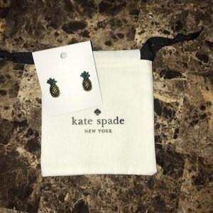 🍍 Kate Spade Pineapple Studs 🍍